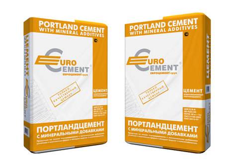 Евроцемент Цемент М-400 Д20 (50Кг)
